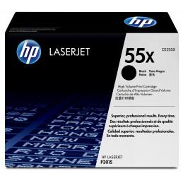 HP 55X - 12500 pages - Noir...