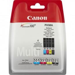 Canon CLI-551 C/M/Y/BK w/o...