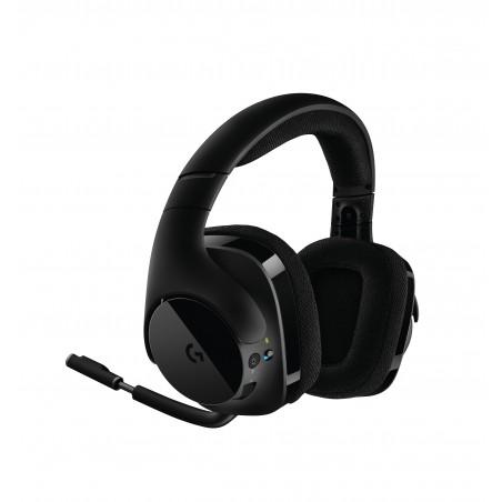 Logitech G G533 Wireless - Casque - Arceau - Jouer - Noir - Monophonique - Sans fil