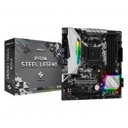 ASRock B450M Steel Legend -...