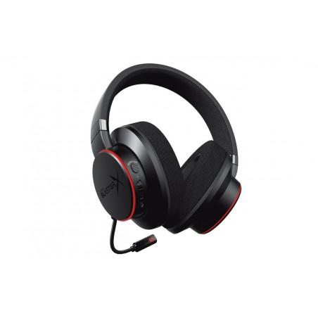 Creative Labs Sound BlasterX H6 - Casque - Arceau - Jouer - Noir - Binaural - 1,5 m