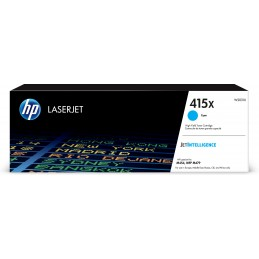 HP 415X - 6000 pages - Cyan...
