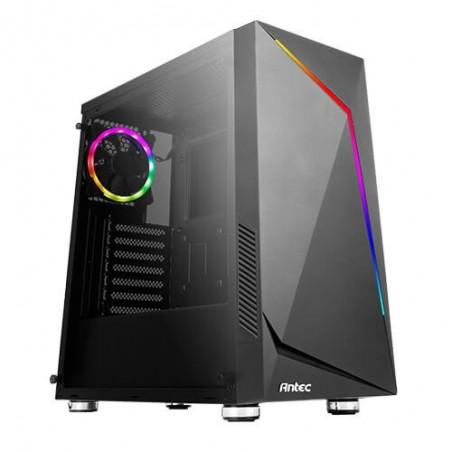 Antec NX300 - Midi Tower - PC - Plastique - SPCC - Verre trempé - Noir - ATX,ITX,Micro ATX - Rouge/Vert/Bleu