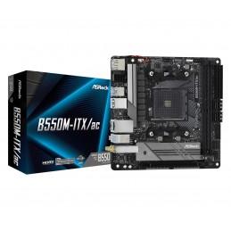 ASRock B550M-ITX/ac - AMD -...