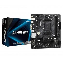 ASRock A520M-HDV - AMD -...