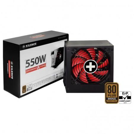 Xilence Performance A+ XN082 - 550 W - 200 - 240 V - 50/60 Hz - 6.3 A - Actif - 20 A