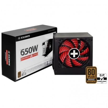 Xilence Performance A+ XN084 - 650 W - 200 - 240 V - 50/60 Hz - 6.3 A - Actif - 20 A
