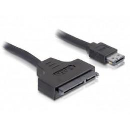 Delock SATA cable - 0.5m -...