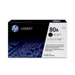 HP 80A - 2560 pages - Noir...