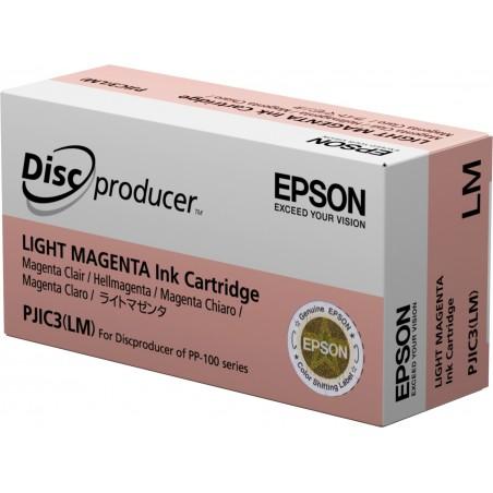 Epson Cartouche d'encre magenta clair PP-100 (PJIC3) - Original - Encre à pigments - Magenta clair - Epson - - PP-50BD - PP-50