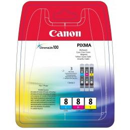 Canon CLI-8 C/M/Y -...
