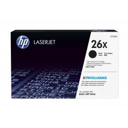 HP 26X - 9000 pages - Noir...
