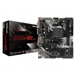 ASRock B450M-HDV R4.0 - AMD...