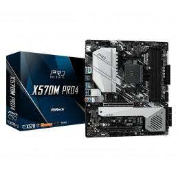 ASRock X570M Pro4 - AMD -...