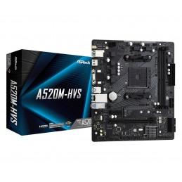ASRock A520M-HVS - AMD -...