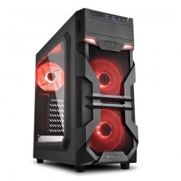 Sharkoon VG7-W Red - Midi...