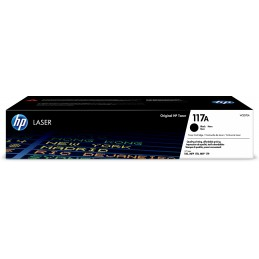 HP 117A - 1000 pages - Noir...