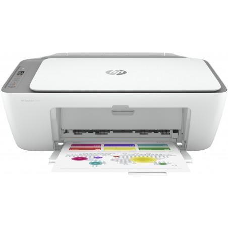 HP DeskJet 2720 - A jet d'encre thermique - Impression couleur - 4800 x 1200 DPI - Copie couleur - A4 - Gris - Blanc