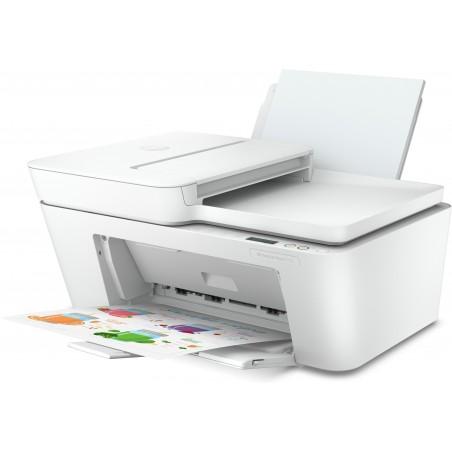 HP DeskJet Plus 4110 - A jet d'encre thermique - Impression couleur - 4800 x 1200 DPI - Copie couleur - A4 - Blanc