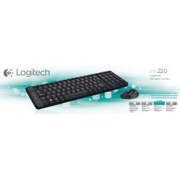 Logitech G MK220 - Mini -...