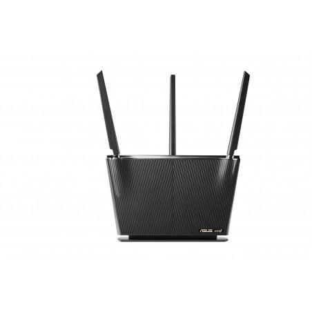 ASUS RT-AX68U AX2700 AiMesh - Wi-Fi 6 (802.11ax) - Bi-bande (2,4 GHz / 5 GHz) - Ethernet/LAN - 3G - Noir - Routeur