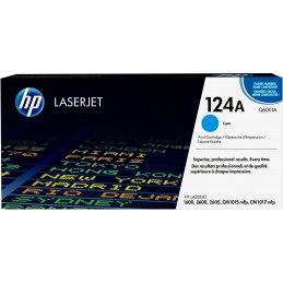 HP 124A - 2000 pages - Cyan...