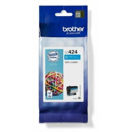 Brother LC424C Cyan ink...