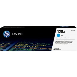 HP 128A - 1300 pages - Cyan...