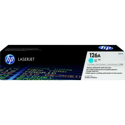HP 126A - 1000 pages - Cyan...